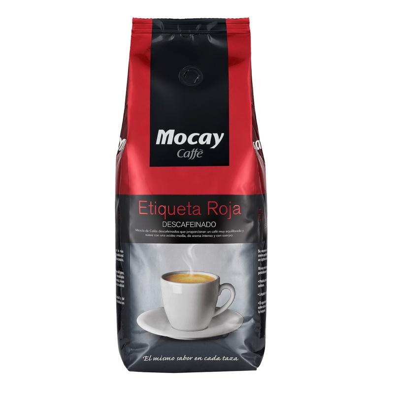 Café Mocay etiqueta roja. Serriver. Vending Saludable
