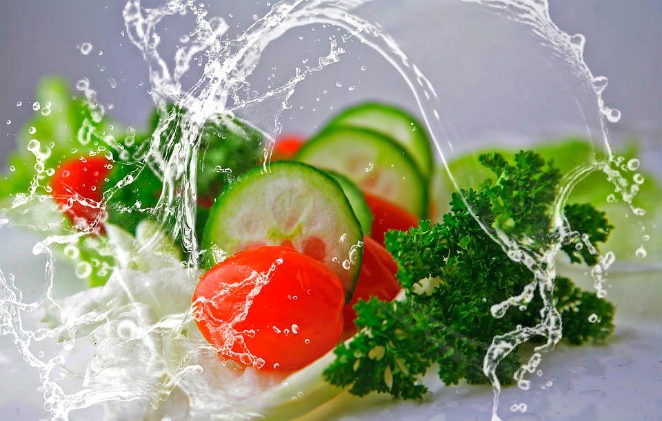Ensalada verde. Vending saludable. Serriver.es
